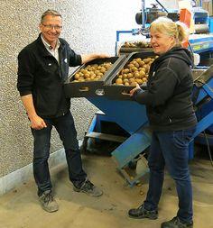 Våra potatis leverantörer från Gränsbo.