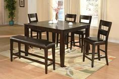 dining table and chairs ban of wood