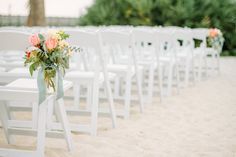Photography: Lindsey A. Miller Photography - www.lindseyamiller.com Venue: Charleston Harbor Resort and Marina Read More: http://www.stylemepretty.com/2014/07/02/classic-laid-back-beach-wedding-in-charleston/