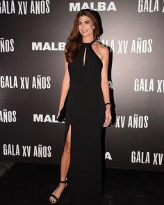 Juliana Awada, primera dama argentina, all in black en el Aniversario del MALBA. #julianaawada #allinblack #malba #malba15años #buenosaires #argentina #moda #fashion #firstlady