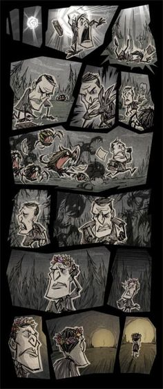 Don't Starve comic by Klei Entertainment