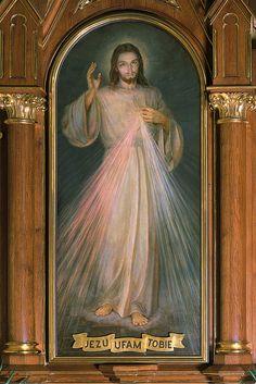 Łagiewniki cudowny obraz Jezusa