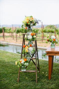 Photography: Jenna Marie Photography - www.jennamariephoto.com  Read More: http://www.stylemepretty.com/california-weddings/sonoma/2013/10/16/sonoma-wedding-at-cornerstone-gardens-from-jenna-marie-photography/