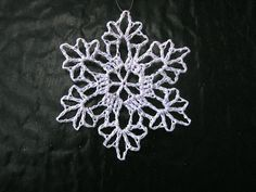 Ravelry: Snowflake pattern by Anne Halliday Crochet Ornament Patterns, Crochet Snowflake Pattern, Christmas Crochet Patterns, Holiday Crochet, Crochet Snowflakes, Christmas Knitting, Crochet Diagram, Crochet Chart, Crochet Motif