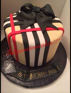 Burberry cake!!