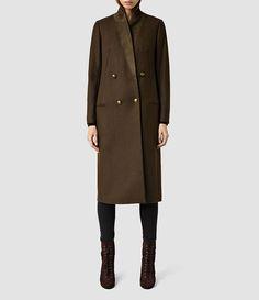 Femmes Una Coat (Moss) -