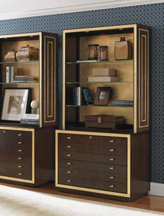 Sligh Bel Aire Beverly Palms File Cabinet with Optional Hutch Home Furniture Shopping, Furniture Catalog, Hardwood Furniture, Furniture Design, China Cabinet, Filing Cabinet, Lexington Home, Decking Material, Cabinet Dimensions