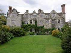 Benthall Hall, Shropshire. Situated on a plateau above the gorge of the River Severn, this fine stone house has mullioned and transomed windows, a stunning interior with carved oak staircase and decorated plaster ceilings and oak panelling. http://www.nationaltrust.org.uk/benthall-hall/