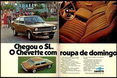 Anúncio Chevette SL - 1975