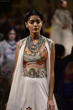 during Anamika Khanna showcase When Time Stood Still at the FDCI India Couture Week 2016 on 22 July 2016 / FDCI India Couture Week - Bollywood Photos