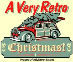 Andy Nortnik's retro Christmas clip art set. I must remember to buy this for Yule scrapbooking