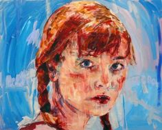 Rebecca, oil on canvas, 2007 - Liam O'Connor