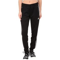 adidas Condivo 14 Training Pants Women's Workout, Black ($27) ❤ liked on Polyvore featuring activewear, activewear pants, black, adidas sportswear, adidas activewear and adidas