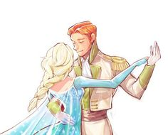 Ok I know he tried to kill her and all, but I still ship Hans with Elsa.