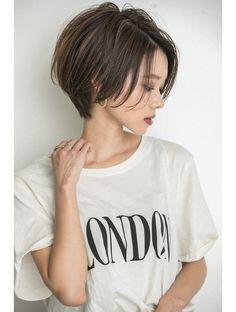 Asian Haircut Short, Asian Short Hair, Short Hair Tomboy, Girl Short Hair, Short Hair With Layers, Short Hair Cuts, Shot Hair Styles, Curly Hair Styles, Love Hair