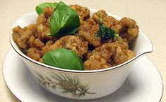 Taiwanese salty crispy chicken, tasty street food