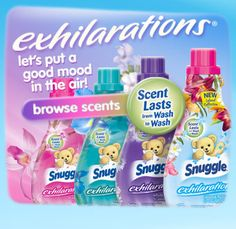 The Ultimate in Snuggly Softness   Snuggle Fabric Softener