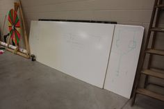 Someday, I will dedicate a full wall of my house to a dry erase board