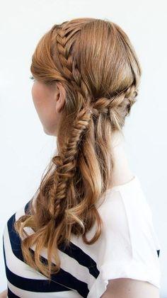 Bohemian Briads Hairstyle