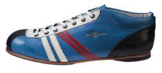 Zeha Berlin - Carl Hässner - LIGA -   855.21 - azzurro - jeans - denim - Blau - blu - the DDR inspired 100 % leather sneaker - made in EU www.zeha-shop.de