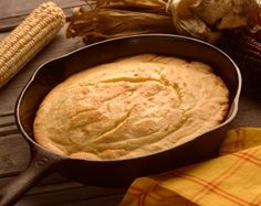 Buttermilk Cornbread - A Buttermilk Cornbread Recipe. No sugar, the way cornbread is supposed to be!