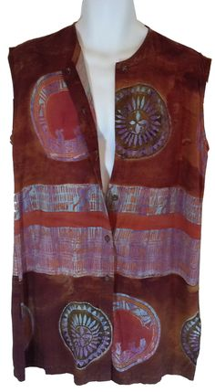 Retro Distressed Boho Hippie Shirt Dress - Dresses