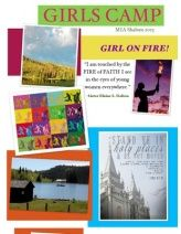 """Girl on Fire Theme idea - """"I am touched by the FIRE of FAITH I see in the eyes of young women everywhere"""" - Elaine Dalton"""