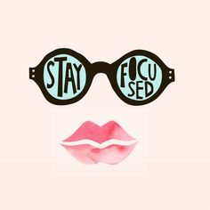 Stay Focused...and Extra Sparkly! #kissandwear