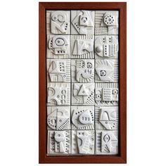 Terracotta Wall Sculpture by Ron Hitchens at Terrakotta-Wandskulptur von Ron Hitchens bei Ceramic Wall Art, Ceramic Clay, Ceramic Pottery, Pottery Art, Wall Tile, Pottery Ideas, Wall Sculptures, Sculpture Art, Clay Tiles