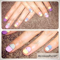 Fairy Nailz: #CNDShellac pastels