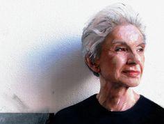 Lella Vignelli: Design Observer...Painting of Lella Vignelli by Jessica Helfand.