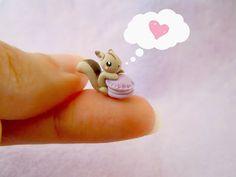 Mijbil Creatures: Tiny squirrel tutorial & mini GIVEAWAY