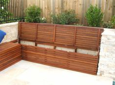 56 ideas for outdoor storage bench seating patio Outdoor Corner Bench, Patio Bench, Backyard Seating, Garden Seating, Outdoor Seating, Deck Benches, Balcony Bench, Outdoor Lounge, Storage Bench Seating