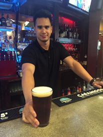 Alex is behind the bar and he's thinking you're ready for a cold one!