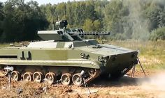 #RUSSIA #ROBOT #TANK READY FOR ACTION...