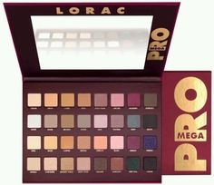 Lorac Mega PRO Limited Edition Palette 32 Eyeshadow Colors Brand New