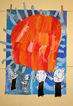 Moje rodina . Tempera, tuš. Vytvořili předškoláci v našem výtvarném studiu. Tempera, Studios, Painting, Painting Art, Paintings, Painted Canvas, Drawings
