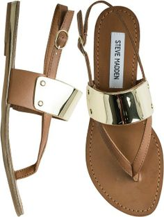 a3c9e7ec0fc Spring Summer sandals with beautiful gold detail