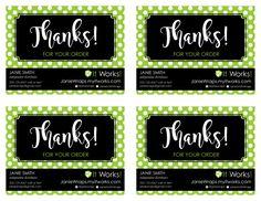 It Works! Global Thank You Custom Postcard for Distributors (PRINTABLE DIGITAL FILE) by kellibdesignstudio on Etsy https://www.etsy.com/listing/397857253/it-works-global-thank-you-custom