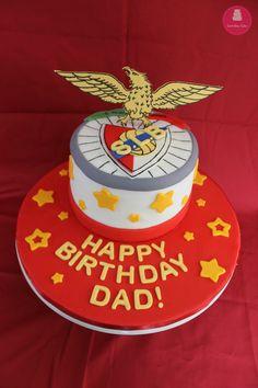 SLB Benfica Birthday Cake