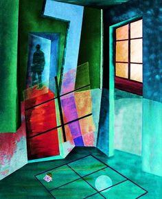 'Raum 3 A' von Gertrude  Scheffler bei artflakes.com als Poster oder Kunstdruck $18.71
