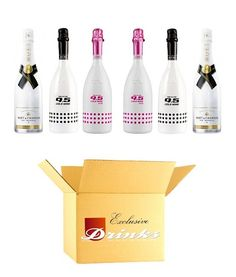 Summertime Box    Moet & Chandon Ice Imperial  Astoria 9.5 Cold Wine  Astoria 9.5 Cold Wine Pink