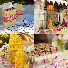 Take a Stroll Through This Beautiful Butterfly Garden Birthday Party - www.lilsugar.com