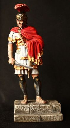 Roman Pretorian Centurion Tin Toy soldier 75 mm., figurine, metal sculpture. #SpbdollsSpbsouvenir