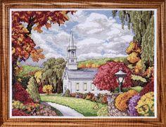 Fall Inspiration - Counted Cross Stitch Kit