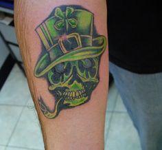 I want irish tattoo and this is lookin pretty friggin cool