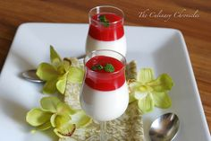 Lychee Panna Cotta with Guava Gelée by The Culinary Chronicles, via Flickr