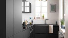 13 plans pour une cuisine fermée de 3 à 9 m2