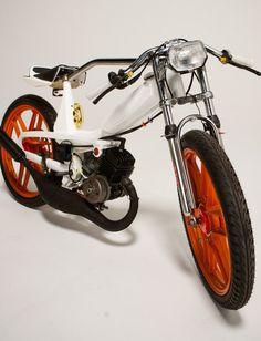 1978 Motobecane: Mean Costom Moped