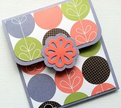 Gift Card Holder by TerrysCards on Etsy, $2.75